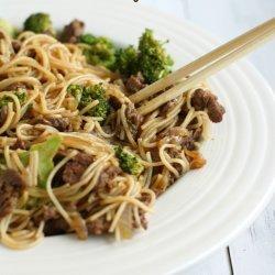 Teriyaki Beef and Noodles