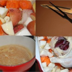 Chicken Soup With Root Vegetables
