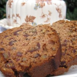Gluten Free Date and Walnut Loaf