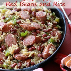Red Beans & Rice -  Without the Beans