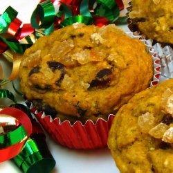 Ginger Pumpkin Muffins