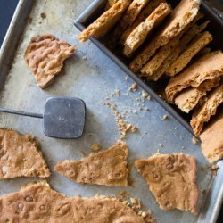Peanut Butter Cookie Brittle