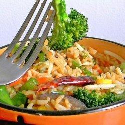 Chinese Vegetarian Fried Rice