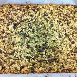 Chocolate Chip & Nut Granola Bars