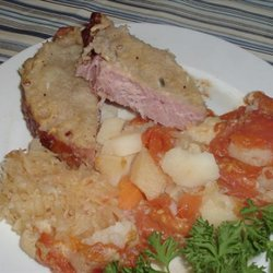 Smoked Pork Chop & Sauerkraut Casserole recipe