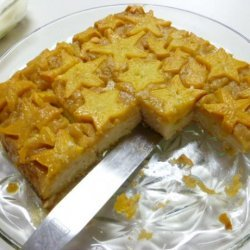 Star Fruit (Carambola) Upside Down Cake