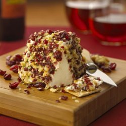 Chavrie Fresh Goat Cheese With Dried Cranberries and Walnuts recipe