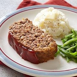 Brown Sugar-Glazed Home-Style Meat Loaf recipe