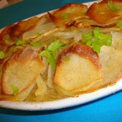 Candie's Easy Potato and Onion Dish