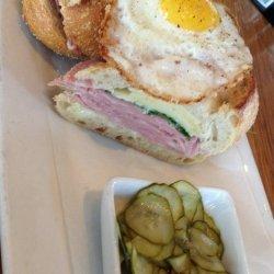 Fried Mortadella Sandwich