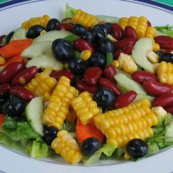Red Bean and Corn Salad