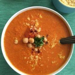 Indian Spiced Couscous Soup