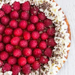 No Crust Raspberry Cheesecake