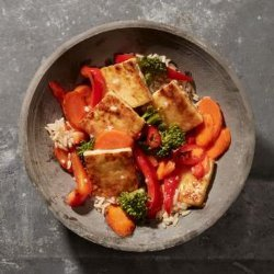 Sweet-And-Sour Tofu Vegetable