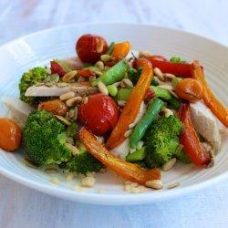 Chicken & Pine Nut Salad