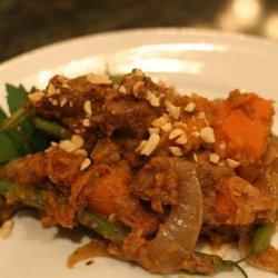Beef & Sweet Potato Stew (Slow Cooker)