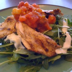 Chicken and Salsa Salad