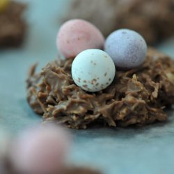 Easter Nests With Eggs