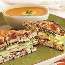 Cream Cheese and Walnut Sandwiches