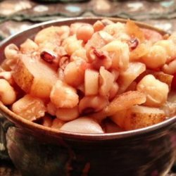 South African Samp and Beans (Umngqusho) recipe