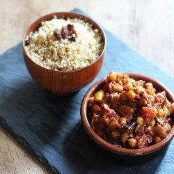 Moroccan Vegetable and Chickpea Tagine