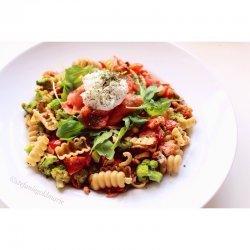Salmon Broccoli Pasta