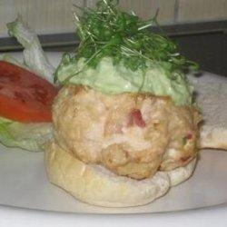 Chicken Burgers With Avocado Cream