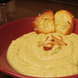 Roasted Cauliflower, Garlic  and Coconut Soup