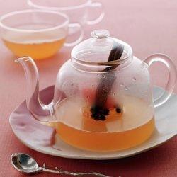 Grapefruit & Pomegranate in White Tea Jelly