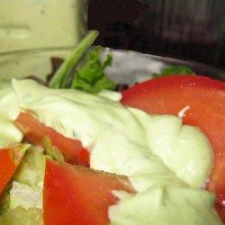 Creamy Avocado Herb Dressing