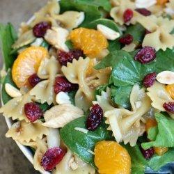 Spinach Chicken Pasta Salad