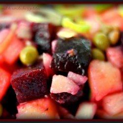 Beets and Potatoes Salad