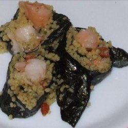 Lobster and Cous Cous Sushi recipe