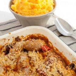 Butter Beans With Sausage