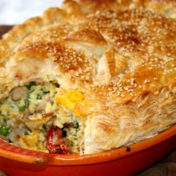 Egg & Bacon Pie