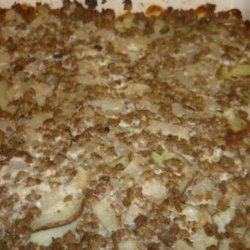 Potato Ground Beef Casserole