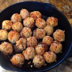 Crawfish Stuffed Mushrooms