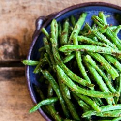 Roasted Sesame - Ginger Green Beans