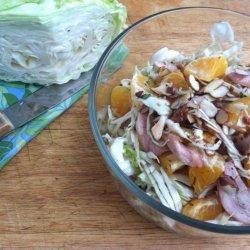 Orange Cabbage Salad