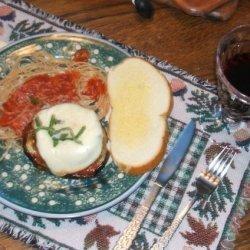 Eggplant All Parmigiano recipe