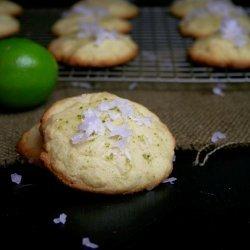 Lime Cornmeal Cookies