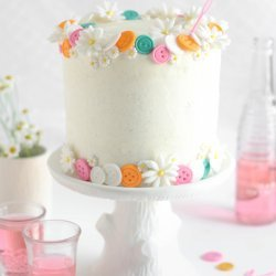 White Cake With Frosting