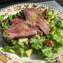 Leftover Steak Salad
