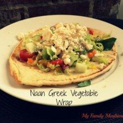 Greek Vegetable Wrap