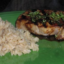 Tropical Pineapple & Lime Pork Chops