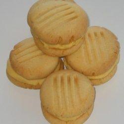 Vanilla Custard Kisses Cookies