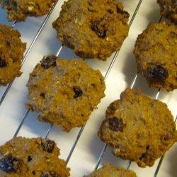 Orange Oatmeals Cookies