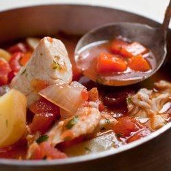Fish Stew With Mediterranean Flavors