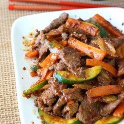 Spiced Beef Stir Fry