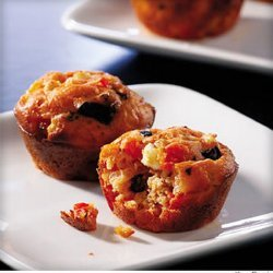 Greek Pizza Muffins